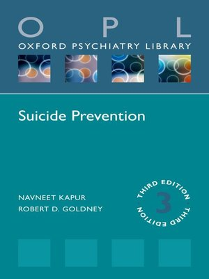 cover image of Suicide Prevention