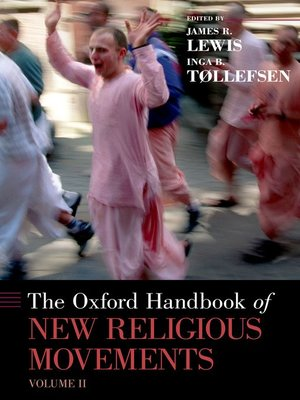cover image of The Oxford Handbook of New Religious Movements