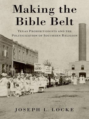 cover image of Making the Bible Belt
