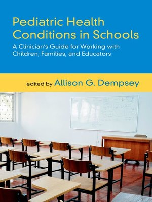 cover image of Pediatric Health Conditions in Schools