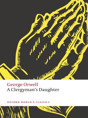 cover image of A Clergyman's Daughter