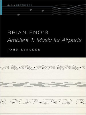cover image of Brian Eno's Ambient 1