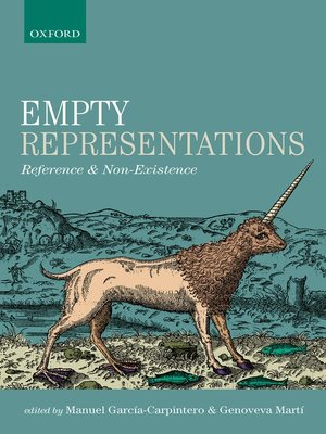 cover image of Empty Representations