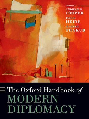 cover image of The Oxford Handbook of Modern Diplomacy