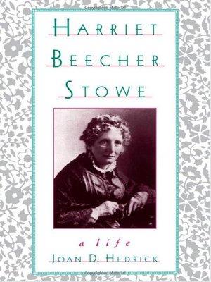 cover image of Harriet Beecher Stowe