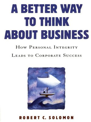cover image of A Better Way to Think About Business