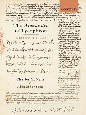 cover image of The Alexandra of Lycophron