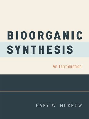 cover image of Bioorganic Synthesis