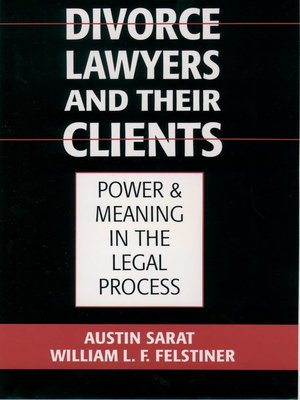 cover image of Divorce Lawyers and Their Clients