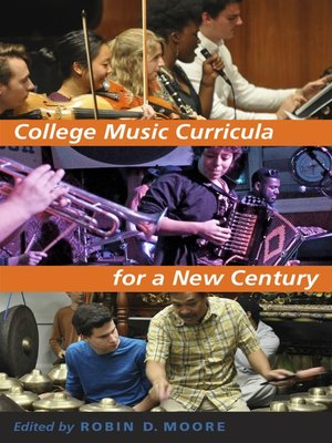 cover image of College Music Curricula for a New Century