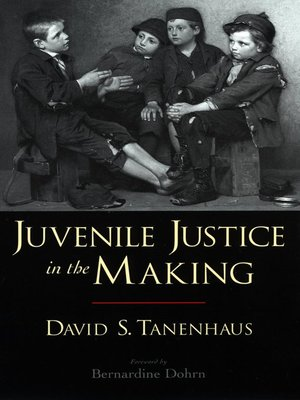 cover image of Juvenile Justice in the Making