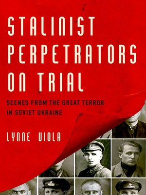 cover image of Stalinist Perpetrators on Trial