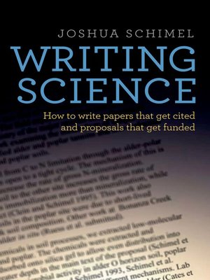 cover image of Writing Science