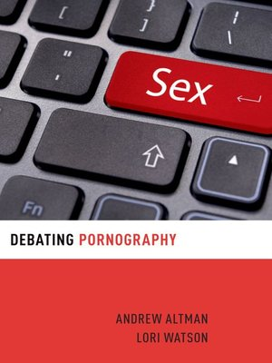 cover image of Debating Pornography