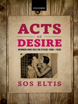 cover image of Acts of Desire