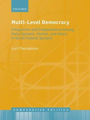 cover image of Multi-Level Democracy