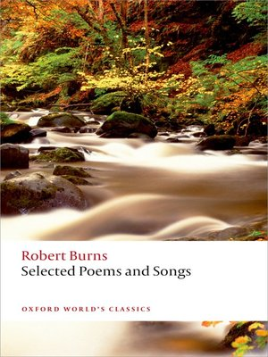 cover image of Selected Poems and Songs