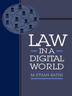 cover image of Law in a Digital World