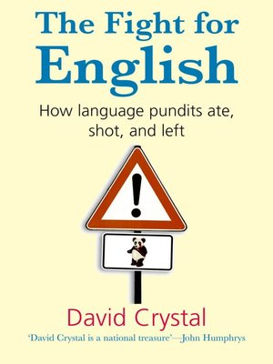 cover image of The Fight for English