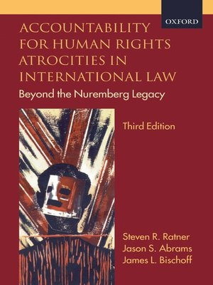 cover image of Accountability for Human Rights Atrocities in International Law