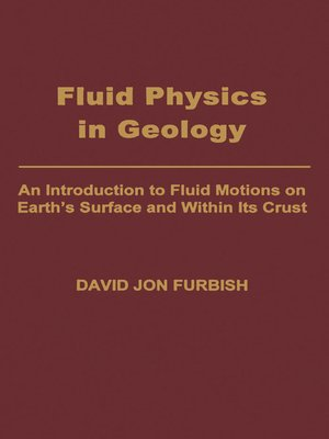 cover image of Fluid Physics in Geology