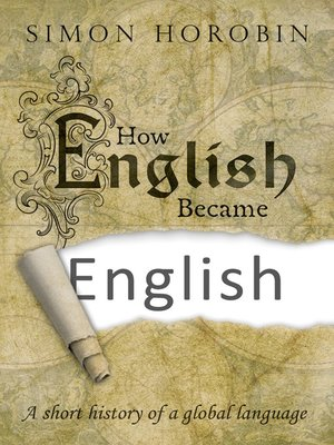cover image of How English Became English