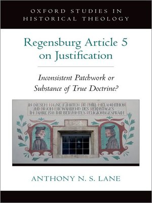 cover image of The Regensburg Article 5 on Justification