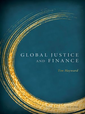cover image of Global Justice & Finance