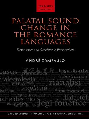 cover image of Palatal Sound Change in the Romance Languages