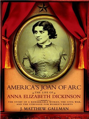 cover image of America's Joan of Arc