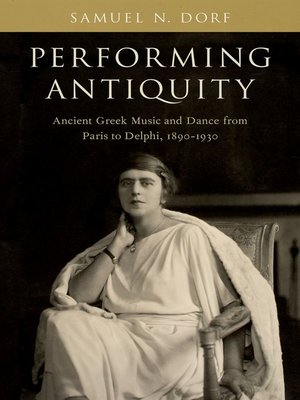 cover image of Performing Antiquity
