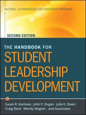 cover image of The Handbook for Student Leadership Development