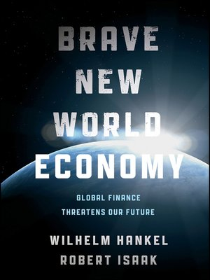 cover image of Brave New World Economy