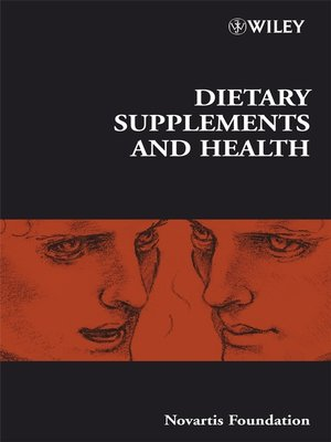 cover image of Dietary Supplements and Health