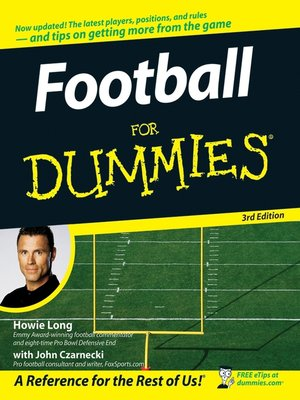 cover image of Football For Dummies