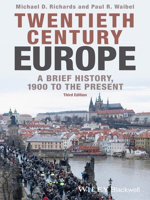cover image of Twentieth-Century Europe