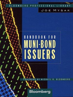 Handbook for Muni-Bond Issuers by Joe Mysak · OverDrive ...