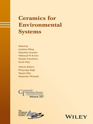 cover image of Ceramics for Environmental Systems