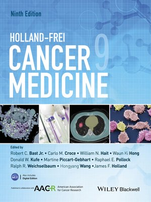 cover image of Holland-Frei Cancer Medicine