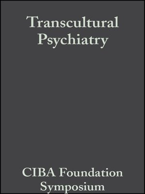 cover image of Transcultural Psychiatry