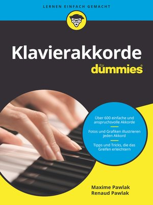 cover image of Klavierakkorde für Dummies