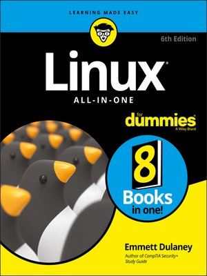 cover image of Linux All-In-One For Dummies