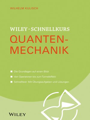 cover image of Wiley-Schnellkurs Quantenmechanik