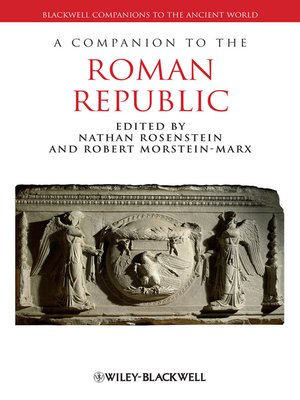 cover image of A Companion to the Roman Republic