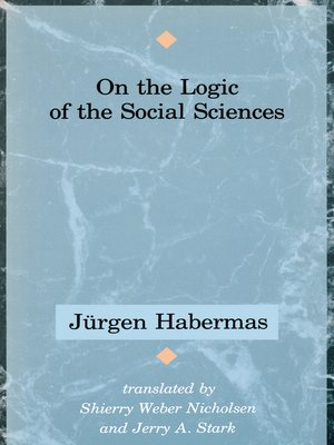 cover image of On the Logic of the Social Sciences