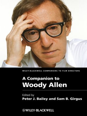 cover image of A Companion to Woody Allen
