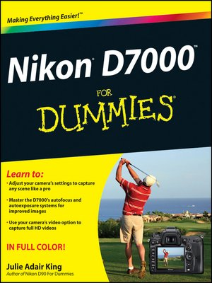 cover image of Nikon D7000 For Dummies