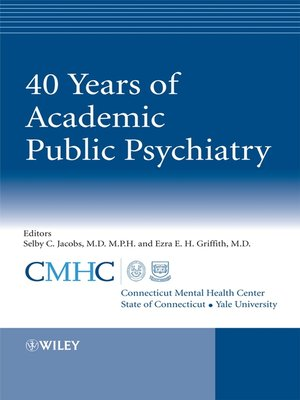 cover image of 40 Years of Academic Public Psychiatry
