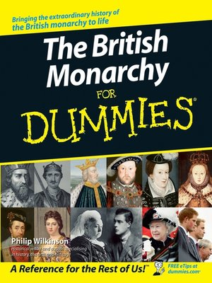 cover image of The British Monarchy For Dummies