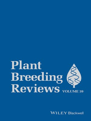 cover image of Plant Breeding Reviews, Volume 39